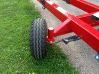 4 wheel steering header trolley
