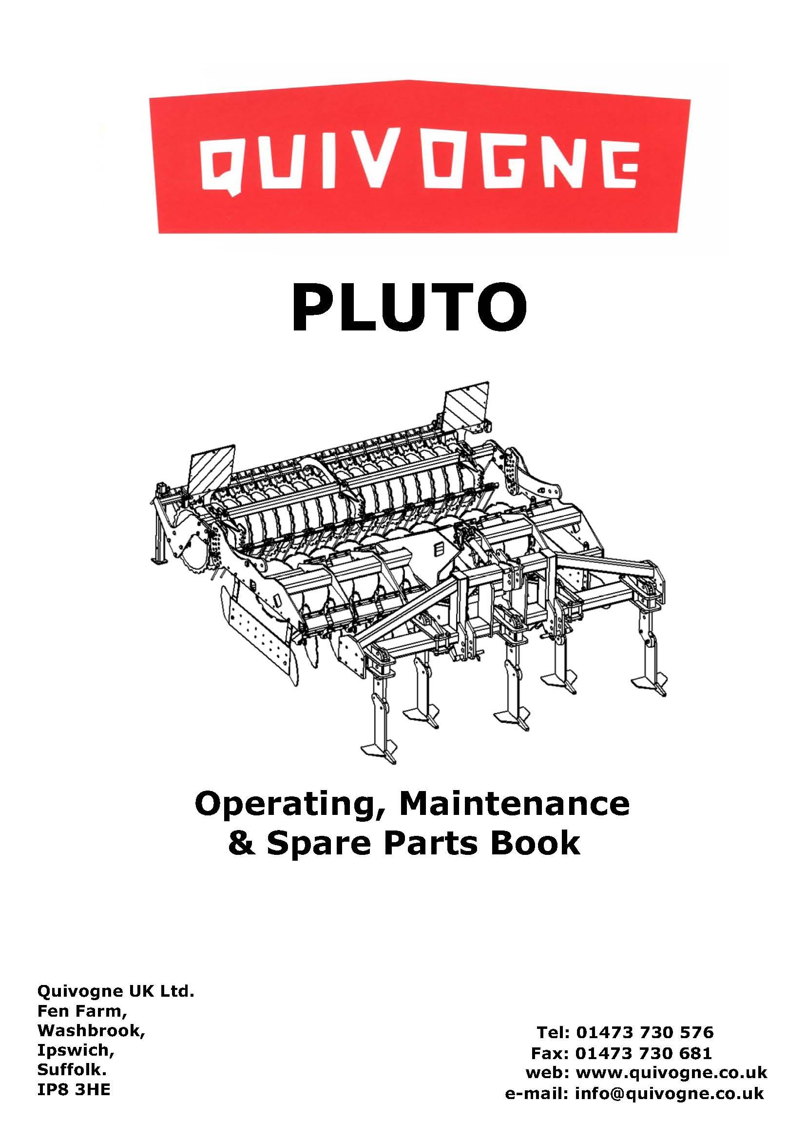 Pluto complete book