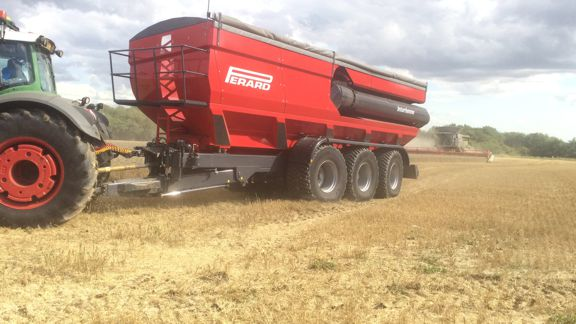 TTR46 working in the field