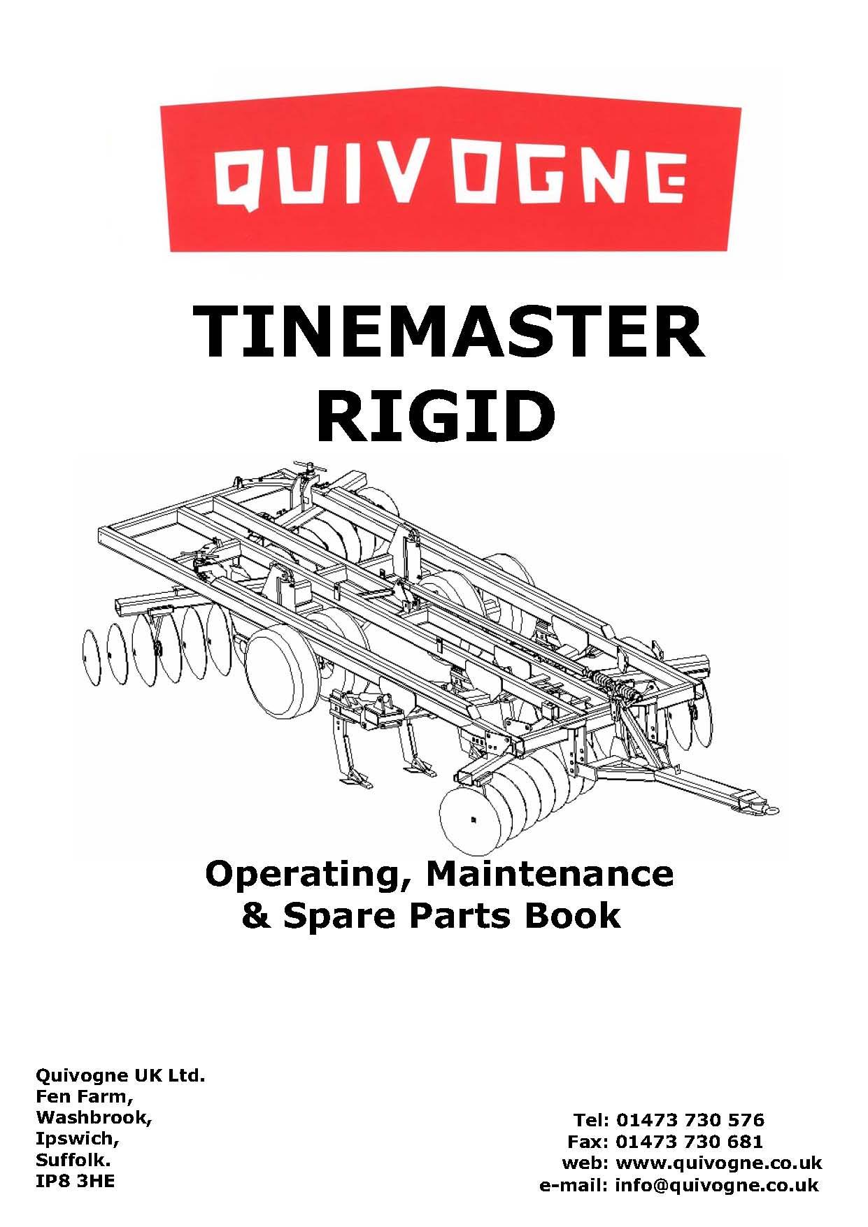 Tinemaster rigid complete book