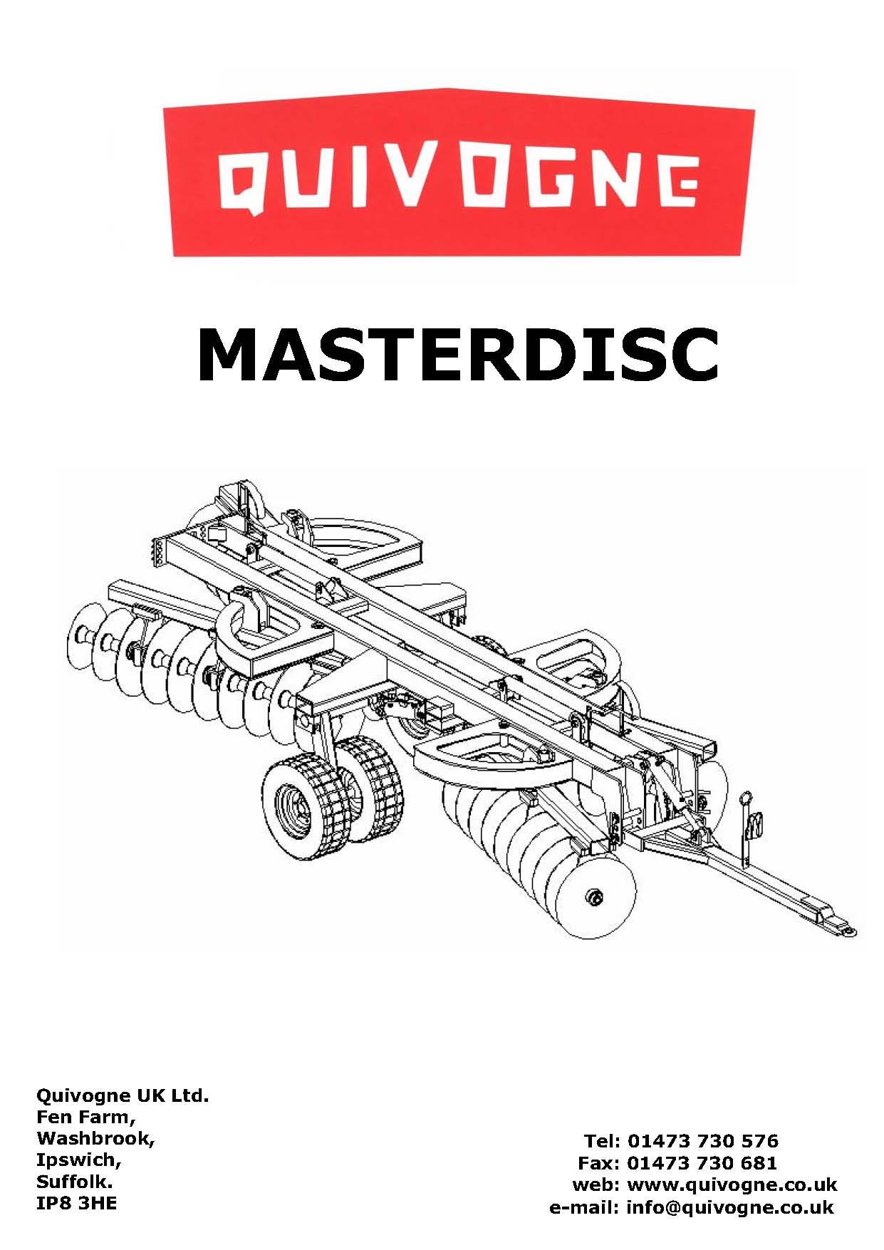 MasterDisc complete book