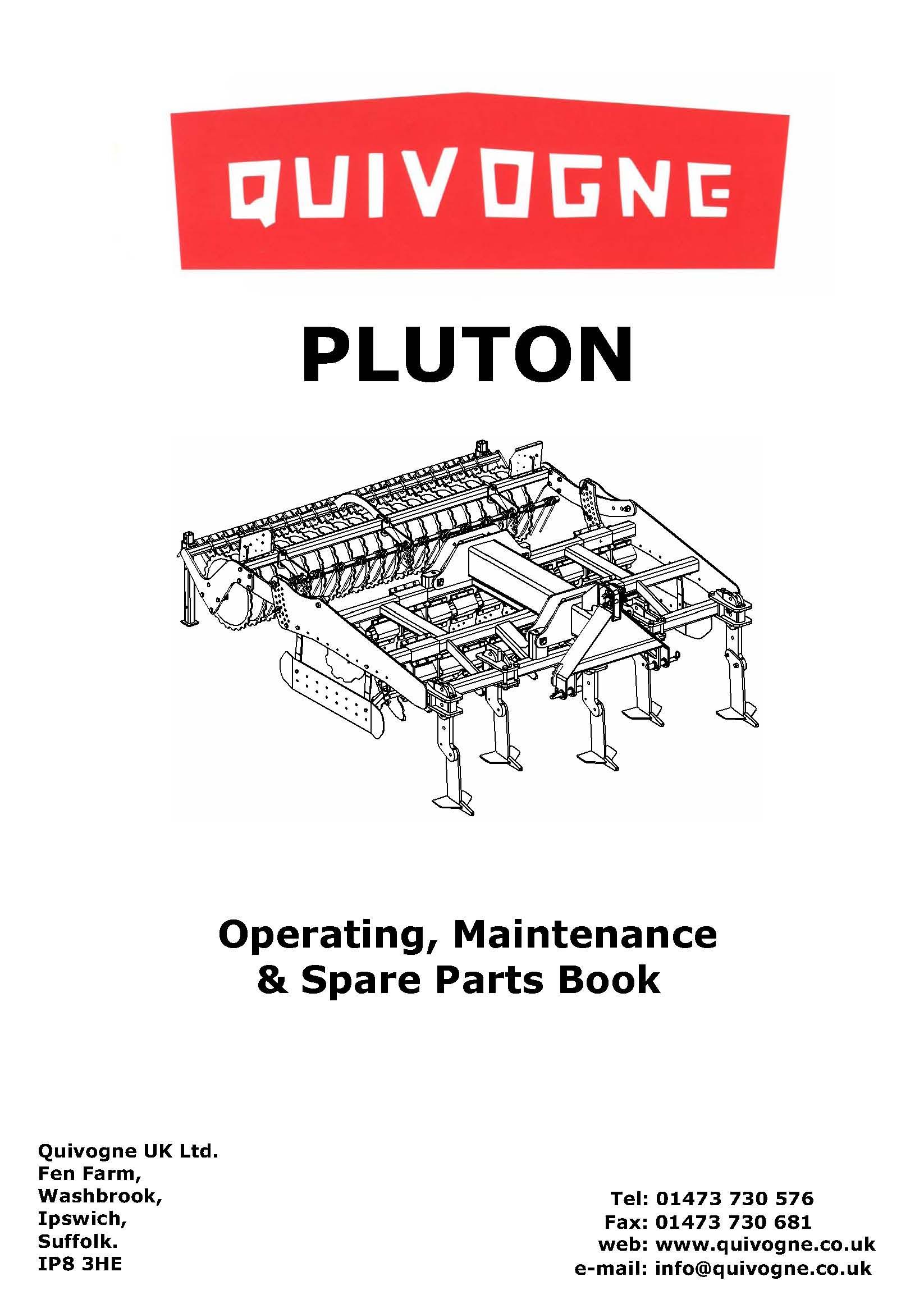 Pluton complete book