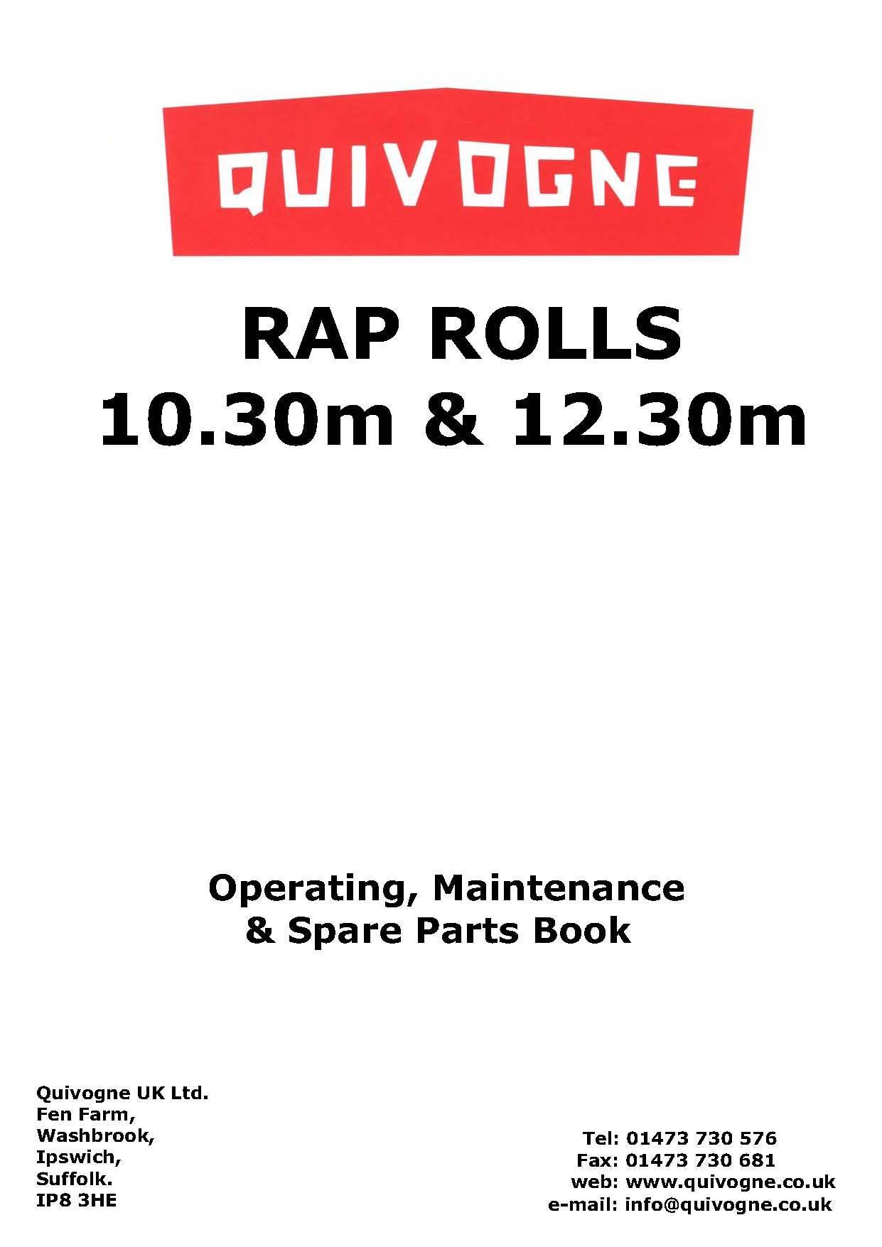 RAP complete book